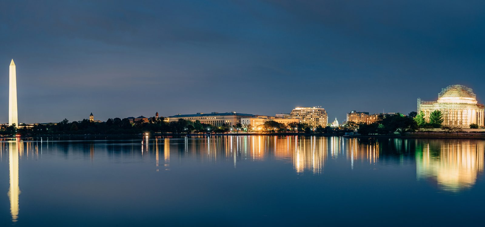 Washington DC Cityscapes Thomas Jefferson Memorial