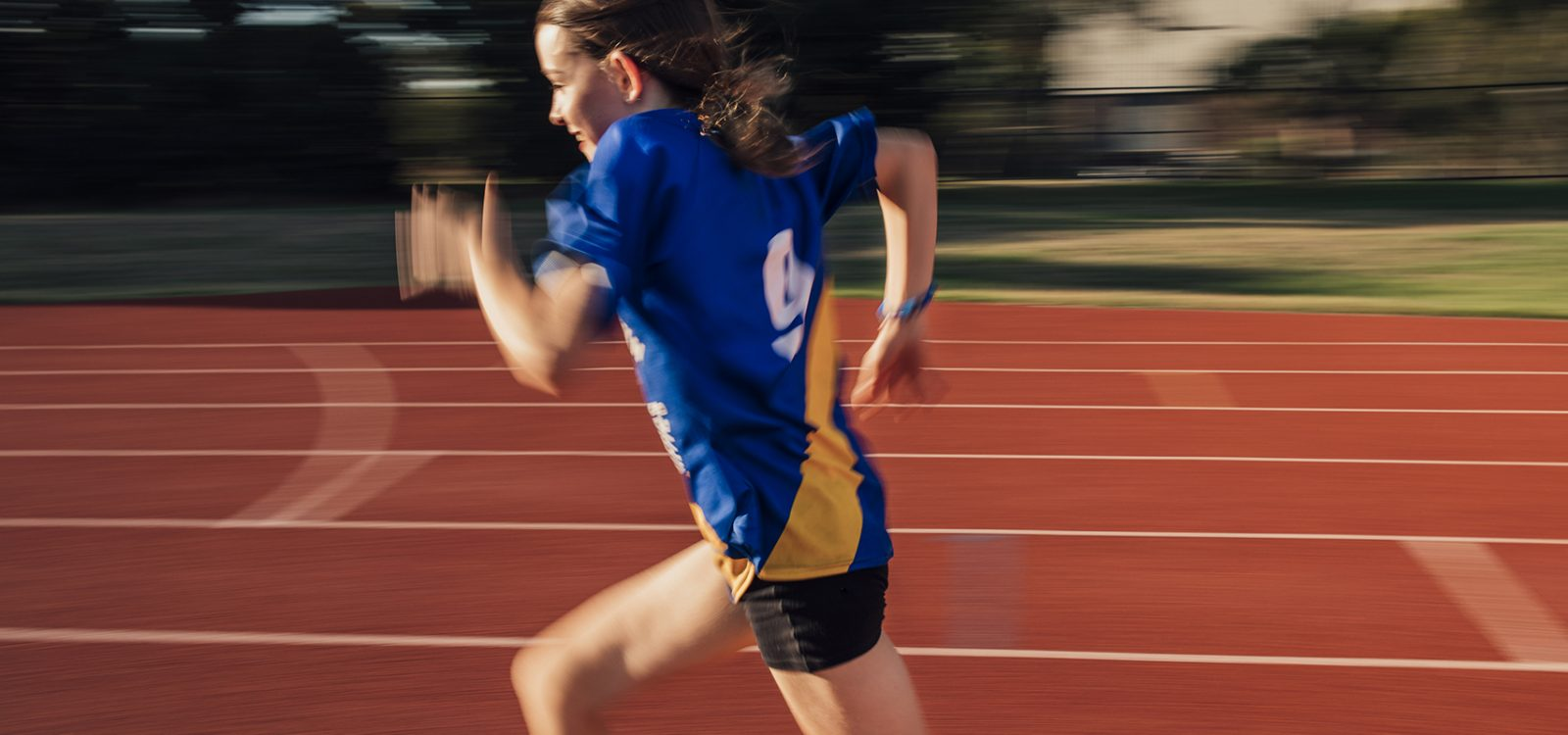 Speed Training At Athletics Club