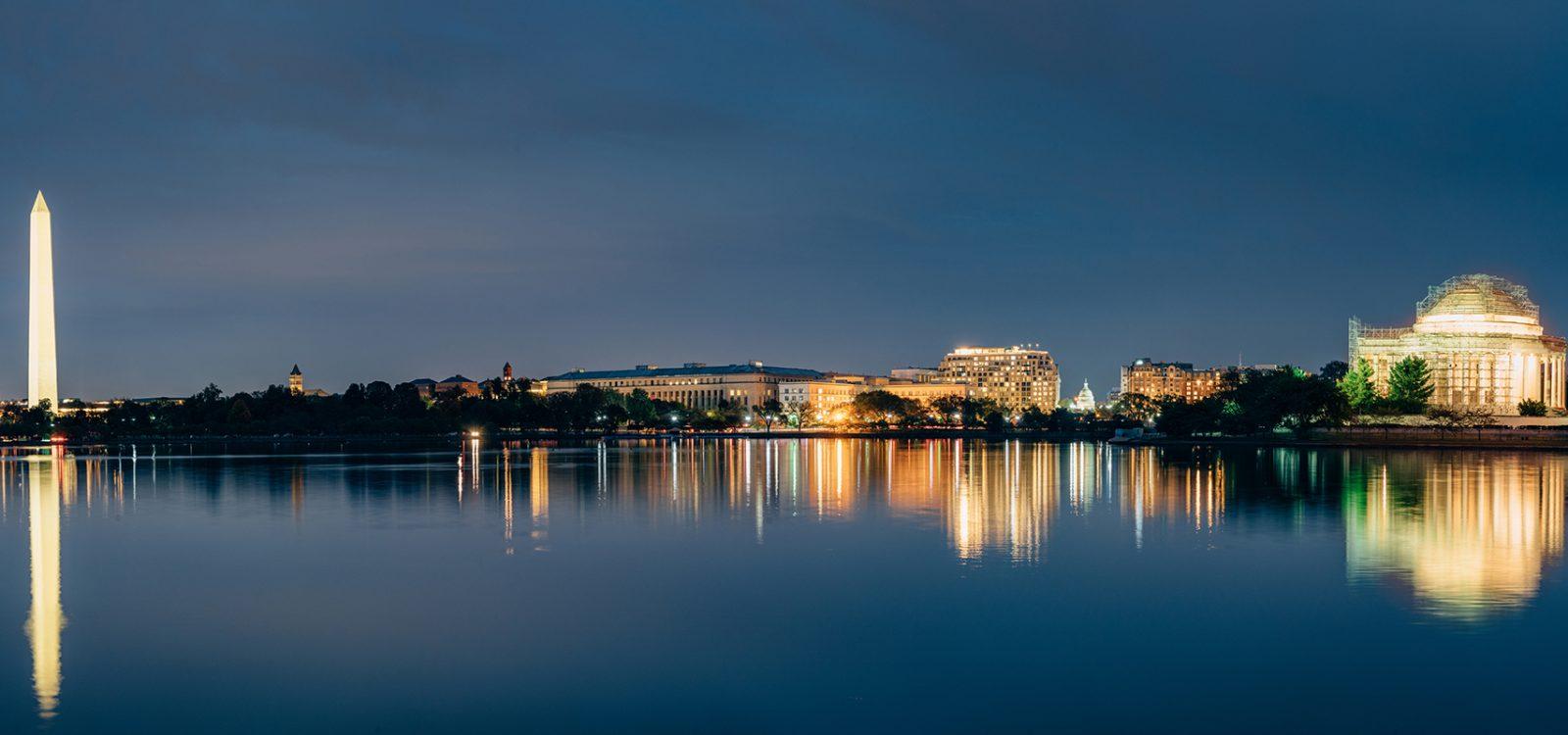 Washington DC Cityscapes Thomas Jefferson Memorial